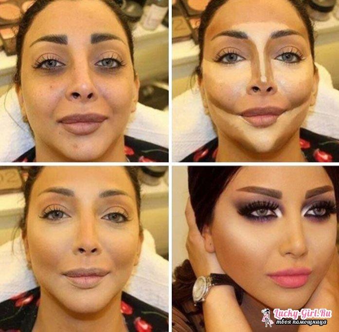 Как сделать правильный макияж лица чтобы сделать
