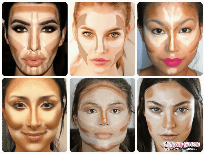Как сделать правильный макияж лица Создаем правильную линию бровей