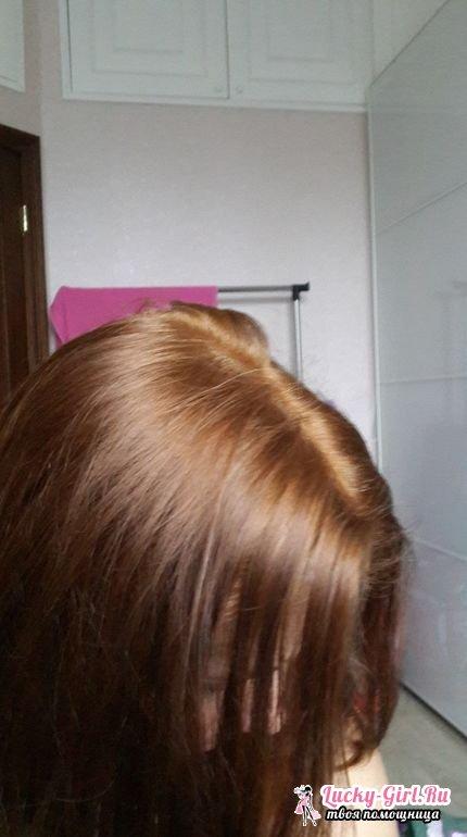 После смывки когда можно красить волосы волосы, образуется невидимая защитная