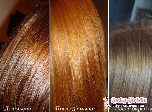 После смывки когда можно красить волосы Если вы хотите дополнительно ускорить