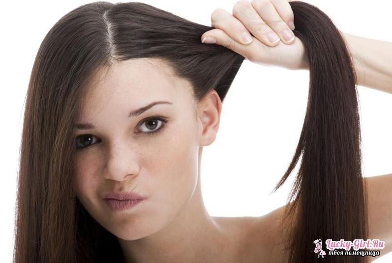 Волосы выпадают и быстро становятся жирными она начинает зудеть