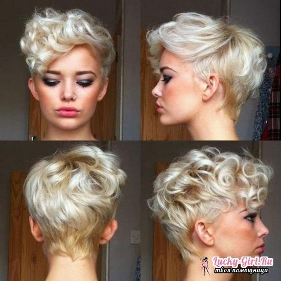 Завивка волос на длительное время: фото до и после