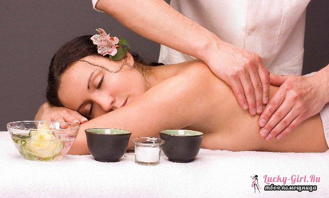 Массаж спины расслабляющий: особенности. Виды и техника выполнения расслабляющего массажа.
