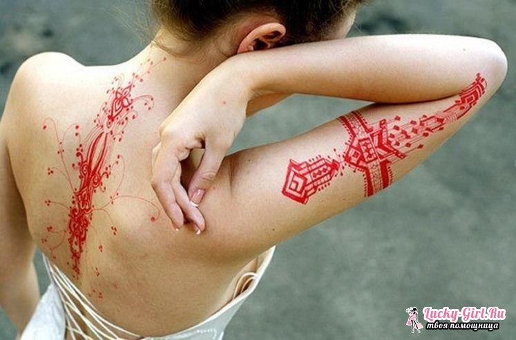 Тату для девушек на спине. Эскизы татуировок для девушек: фото