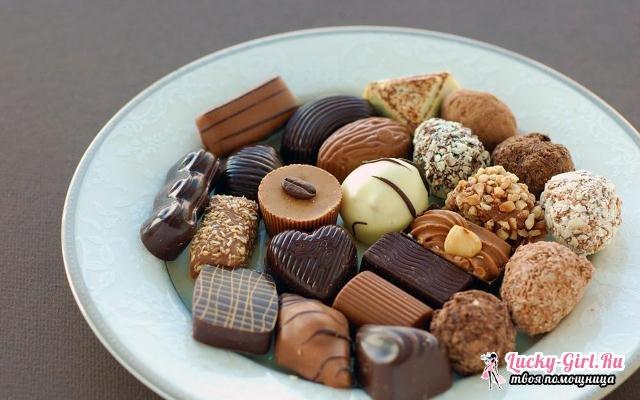 Калорийность конфет. Сколько калорий в самых популярных конфетах и шоколадных батончиках?