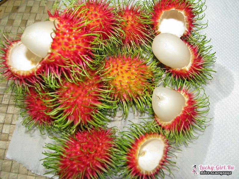 Экзотические фрукты: фото и названия