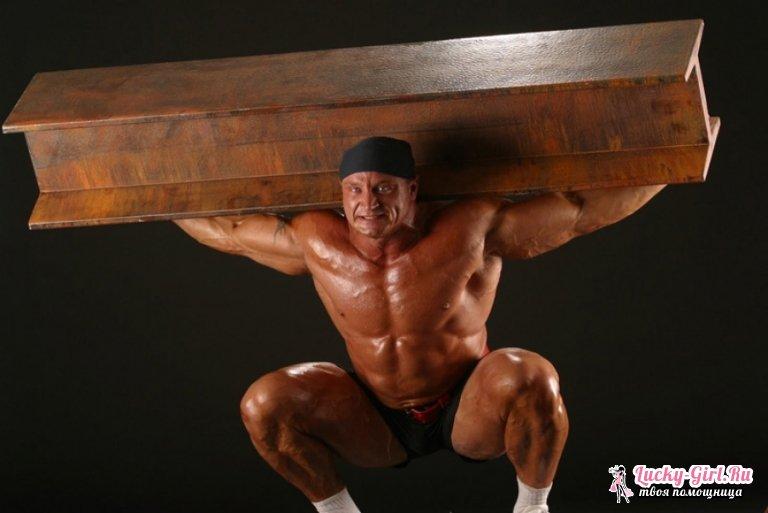 Гимнастика Самсона. Комплекс упражнений