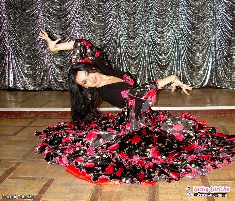 Как сшить цыганскую юбку?