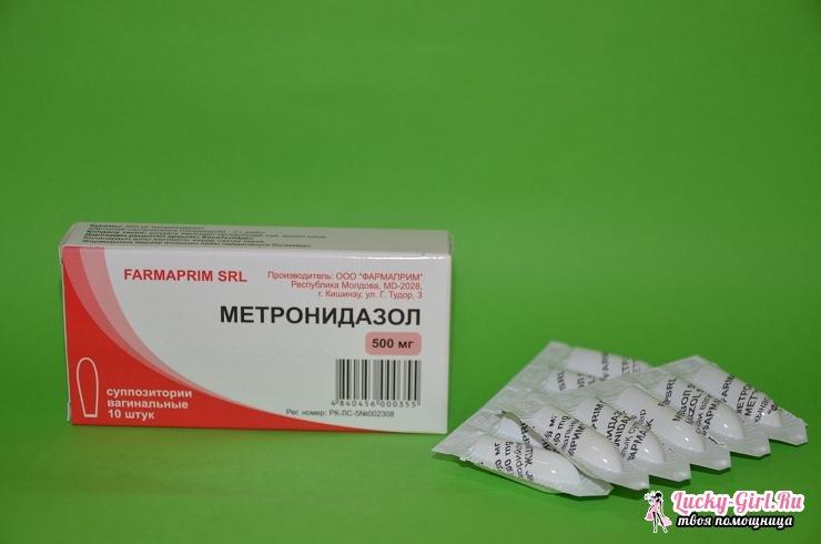От чего помогает метронидазол?
