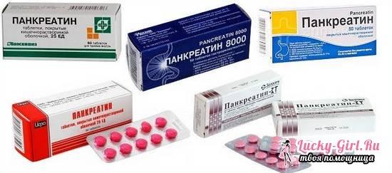 От чего помогает панкреатин?
