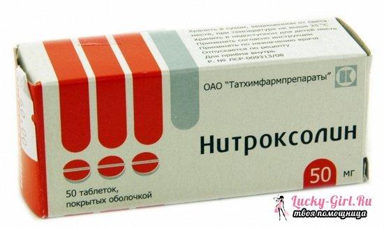 Нитроксолин - антибиотик или нет? От чего принимать эти таблетки?
