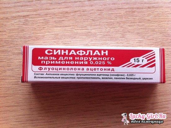 Синафлан: для чего используется мазь, отзывы о препарате