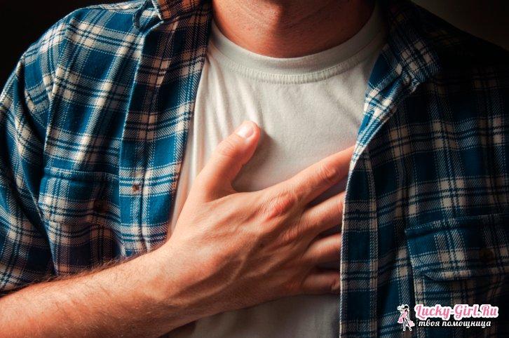 Опоясывающая боль в области желудка и спины: симптомы, причины, лечение
