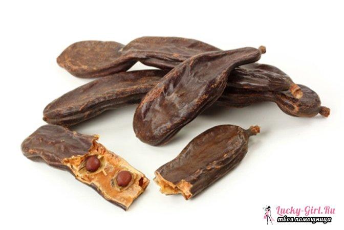 Сироп рожкового дерева: полезные свойства. Инструкция по использованию сиропа