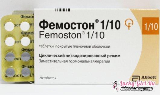 Препарат Фемостон: отзывы