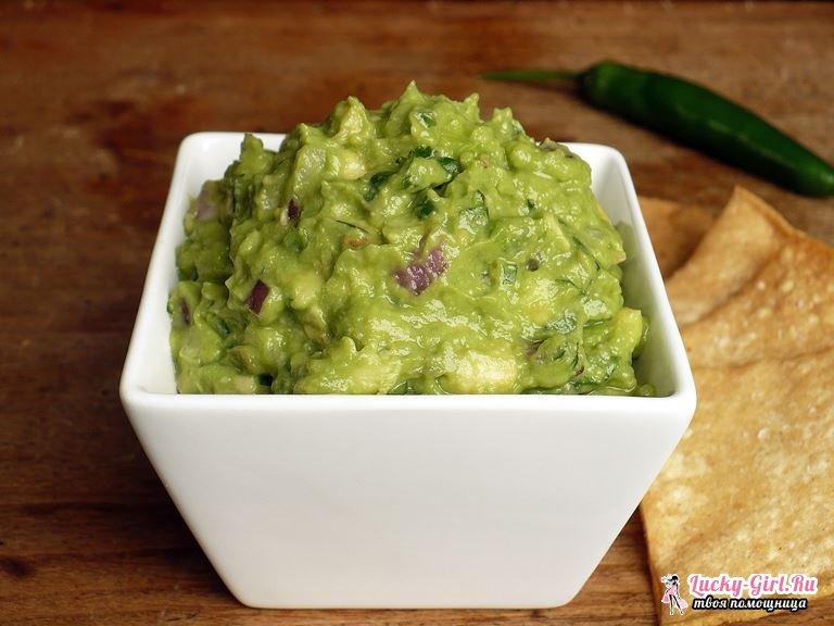Гуакамоле из авокадо: рецепты. С чем едят гуакамоле?