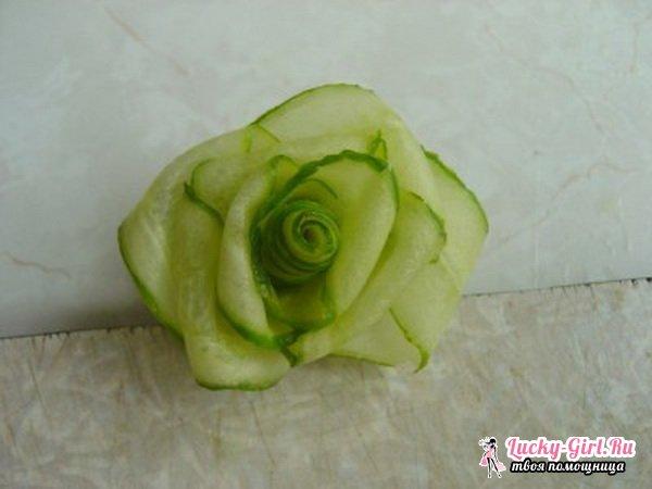 Как украсить салат оригинально? Особенности оформления блюд украшениями из овощей