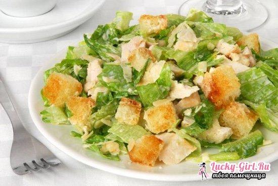 Салат из листьев салата: оригинальные рецепты приготовления блюда