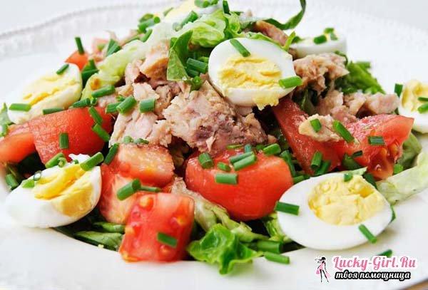 Салат с перепелиными яйцами: 4 рецепта на любой вкус