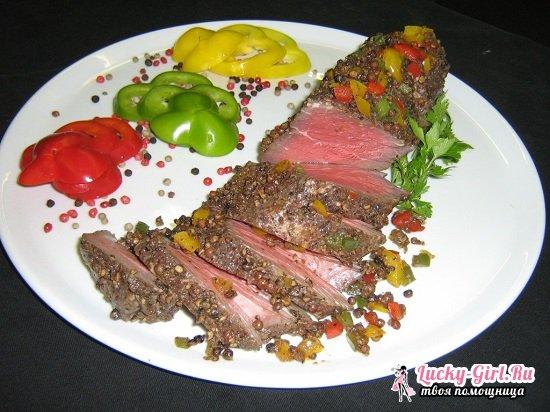 Запеченная говядина в духовке в рукаве и фольге