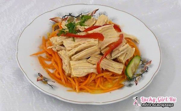 Спаржа по-корейски: рецепты.Сколько калорий в спарже по-корейски?