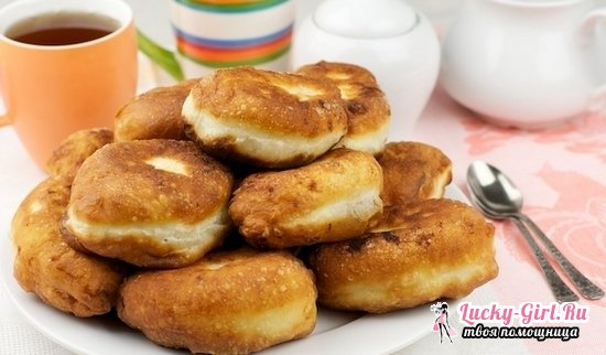 Дрожжевое тесто на кефире для булочек и пирогов