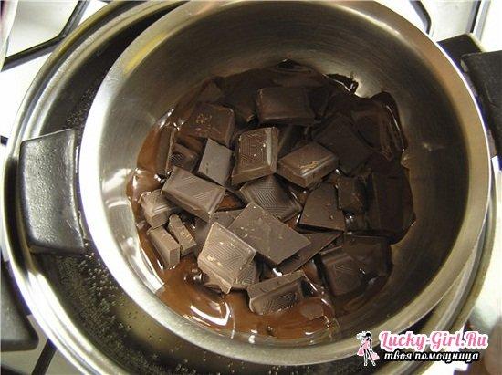 Шоколадная глазурь для торта из шоколада: рецепты