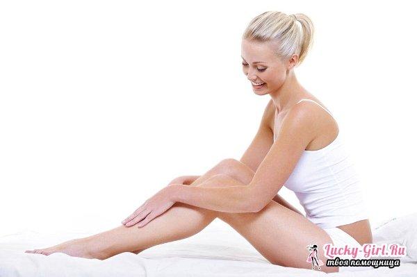 Красные точки на ногах: причины появления и лечение. Как убрать красные точки на ногах после бритья?