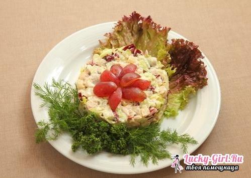 Салат с мясом криля: лучшие рецепты