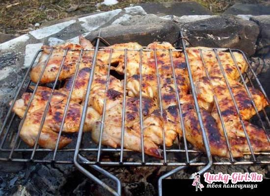 Как мариновать шашлык из курицы: рецепты