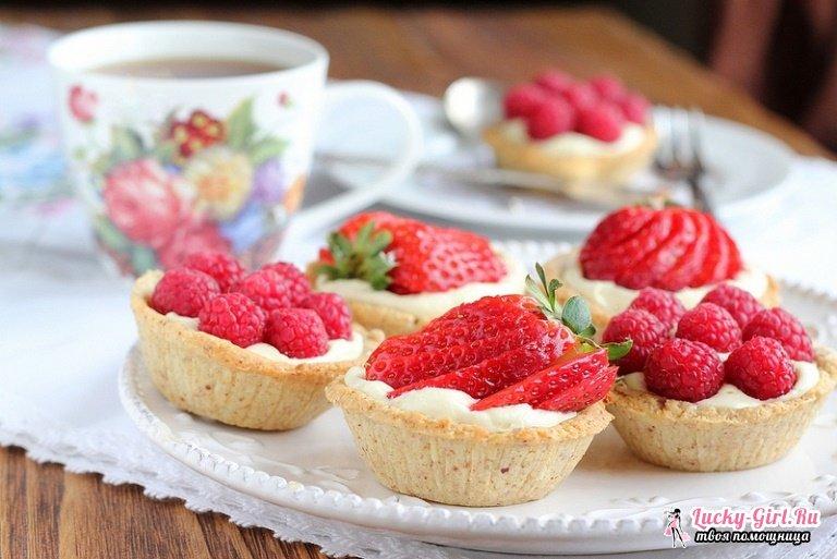 Чем начинять тарталетки: рецепты. Чем начинить вафельные тарталетки?
