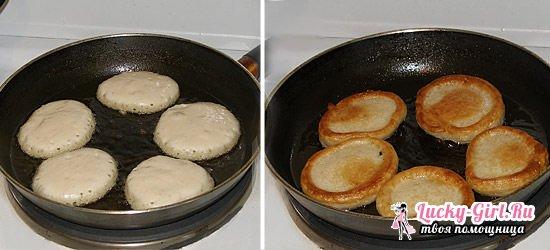 Оладьи на воде пышные без дрожжей  простой рецепт приготовления без яиц