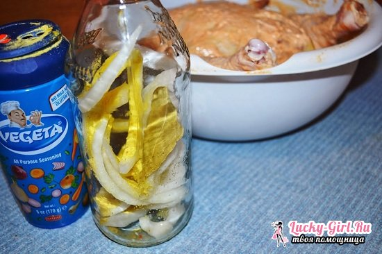 Курица на банке в духовке: рецепты с фото