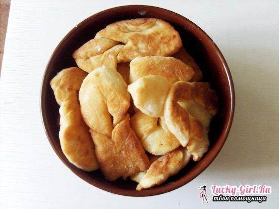 Тарарушки на кефире: простые и вкусные рецепты