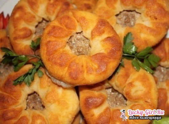 Беляши на сковороде: пышные и вкусные  лучшие рецепты