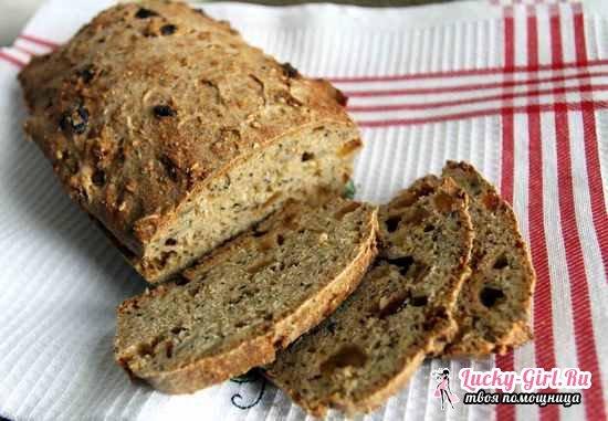 Хлеб в духовке без дрожжей: рецепты приготовления в домашних условиях
