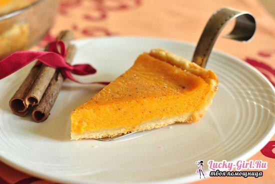 Тыквенный пирог: рецепты, фото и рекомендации
