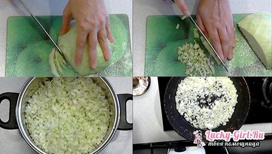 Приготовление ленивых голубцов в духовке