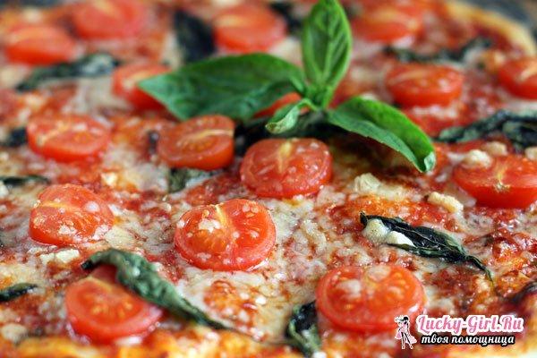 Быстрая пицца: приготовление на сковороде. Пицца с шампиньонами и фаршем на сковороде за 10 минут: рецепт