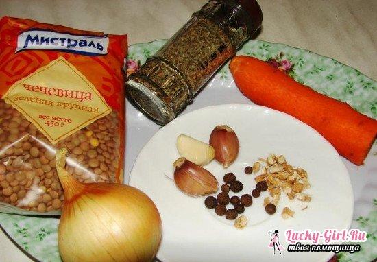 Каша из чечевицы: рецепты, польза и вред
