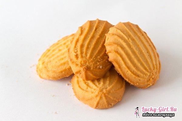 Печенье на маргарине. Любимые рецепты и особенности приготовления