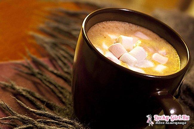 Как приготовить какао? Какао с маршмеллоу: рецепт приготовления