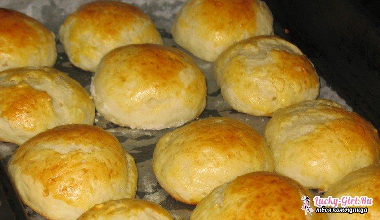 Пышки: рецепт для начинающих хозяек. Варианты блюда с начинкой и без