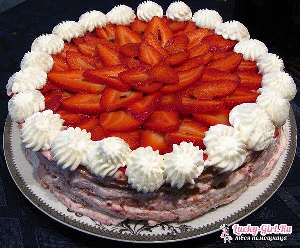Торт из зефира без выпечки: рецепты. Крем для торта из зефира без выпечки: рецепты