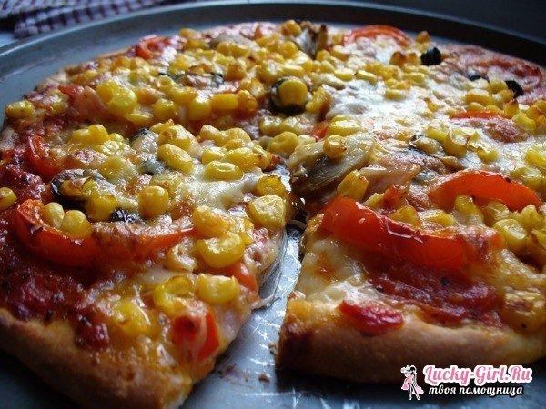 Пицца из слоеного бездрожжевого теста. Как приготовить тесто и начинки для пиццы?