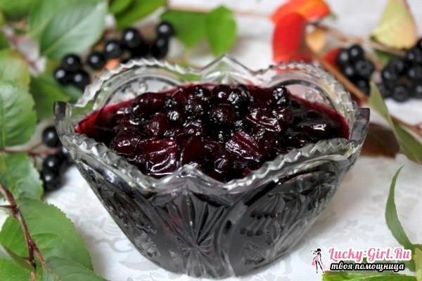 Черноплодная рябина: рецепты. Вино, варенье, настойка из черноплодной рябины