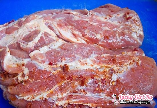 Шейка свиная в духовке целым куском: лучшие рецепты приготовленияP