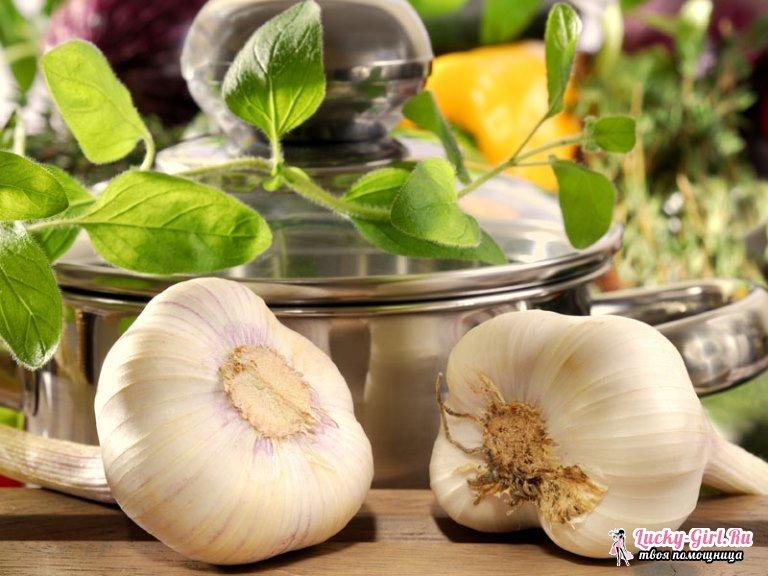 Маринованный чеснок рецепт по-грузински: фото