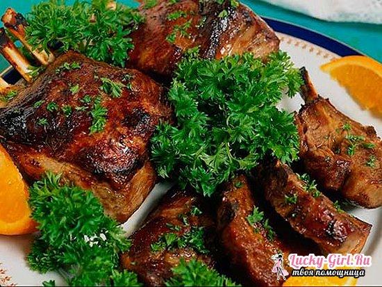 Бараньи ребрышки в духовке: проверенные рецепты и виды маринадов