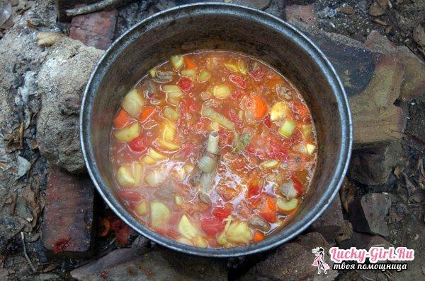 Шулюм из баранины: способ приготовления и тонкости традиционного рецепта